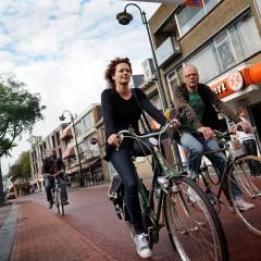 Kruisstraat als fietsstraat en Woenselse Weekmarkt